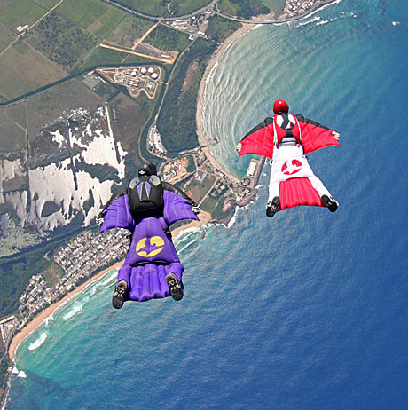 Wingsuit photo courtesy of matthoover.com
